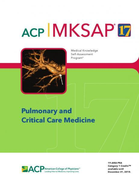 ACP MKSAP PULMONARY AND CRITICAL CARE MEDICINE 18 - داخلی تنفس