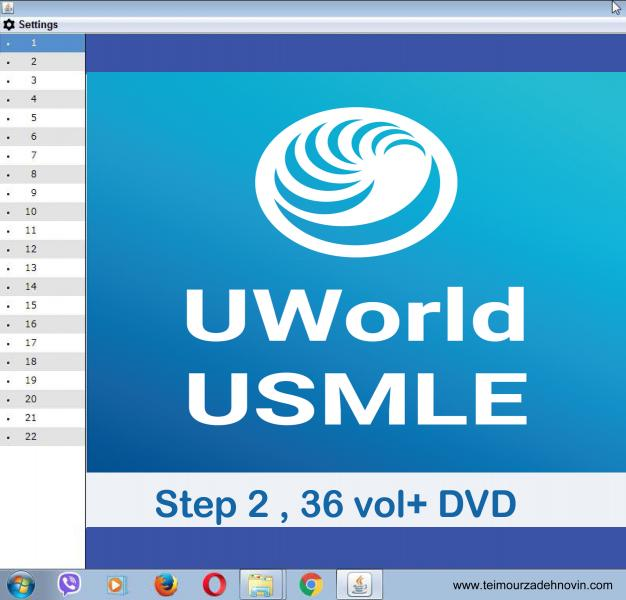 Uworld usmle step 2 36 vol +DVd - آزمون های امریکا Step 2