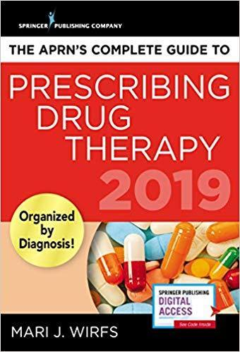 The APRN's Complete Guide to Prescribing Drug Therapy 2019 - فارماکولوژی