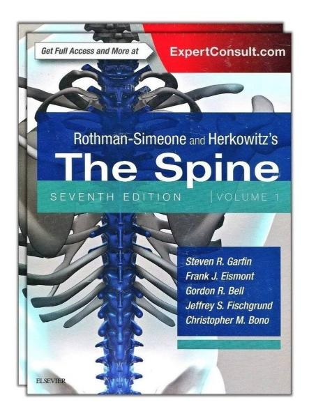 Rothman-Simeone and Herkowitz The Spine, 2 Vol 2018 - جراحی